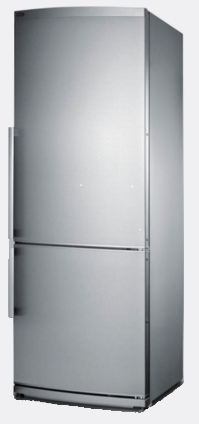 Summit : FFBF285SS 13.8 cu. ft. Counter-Depth Bottom-Freezer Refrigerator Stainless Steel w/o Ice